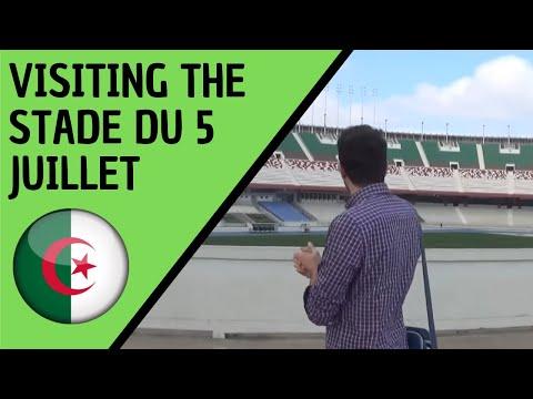 VISITING FOOTBALL STADIUMS IN ALGERIA