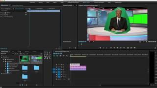 Premiere Pro Virtual News Desk Tutorial