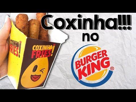 😱😱 Coxinha do Burger King 😱😱