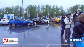 Фигурный Пилотаж 2013 автогонки на кубок AIMOL. Автошкола БЦВВМ, автоспорт Барнаул автосвадьба