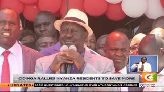 Raila Odinga routes for building bridges #MondaySpecial