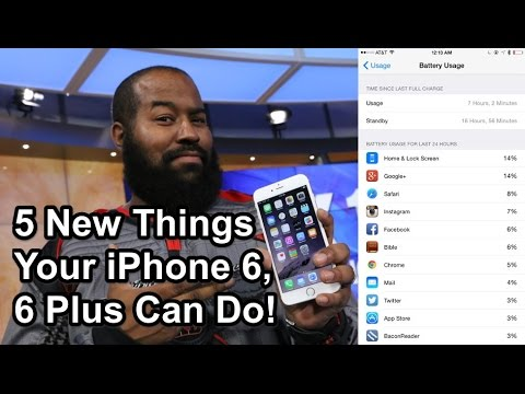5 New Things Your iPhone 6 or 6 Plus Can Do