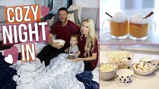 DIY COZY NIGHT IN ♡ Snacks, Ideas + Fun!