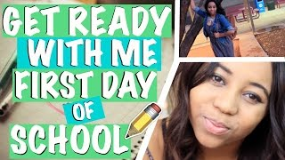 Get Ready with Me: First Day   Back to School