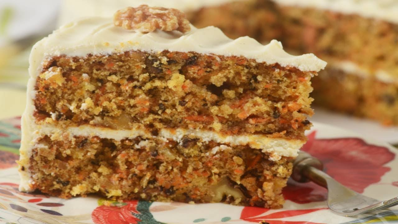 Carrot Cake Recipe & Video
