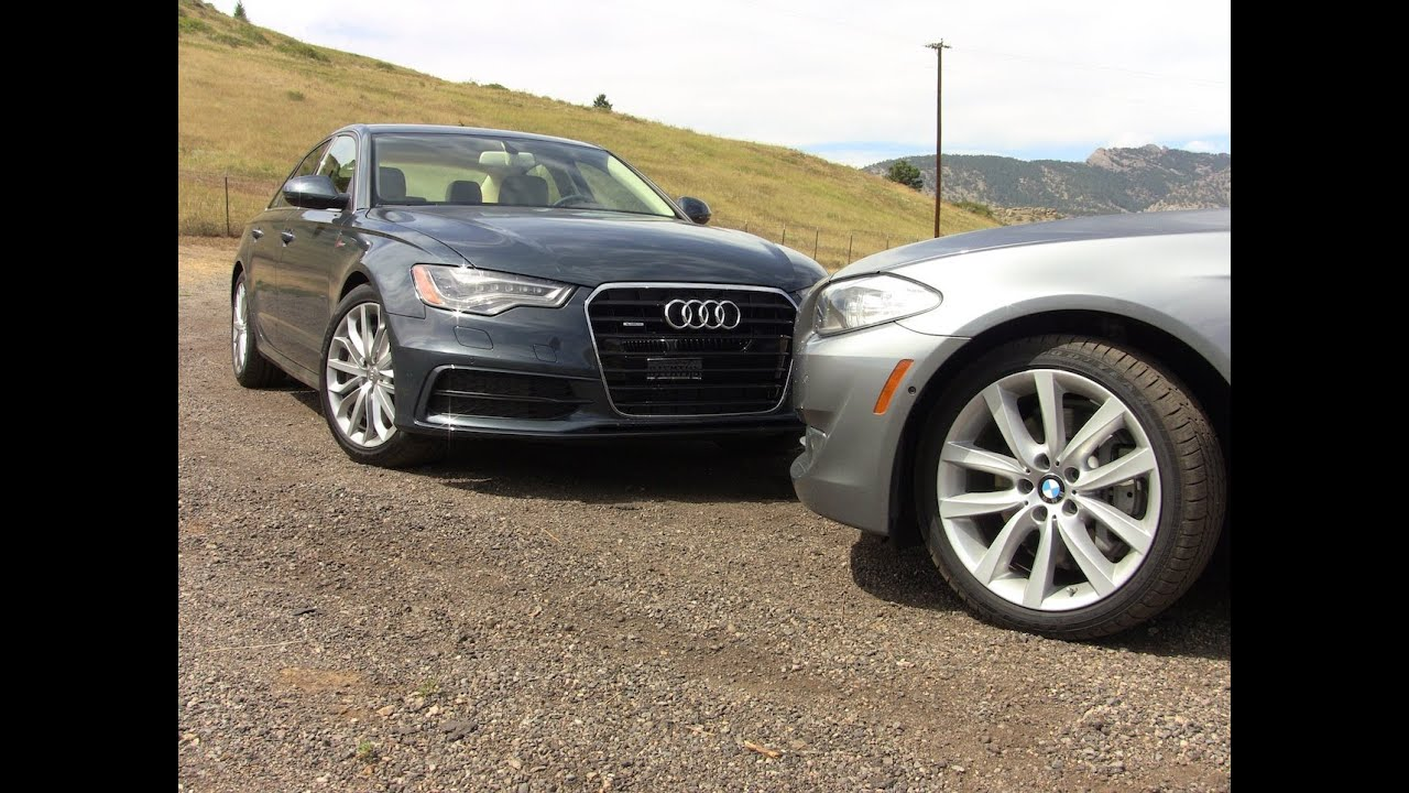 Audi A Versus BMW I Review And The Best Luxury Sedan Is - What car is better audi or bmw