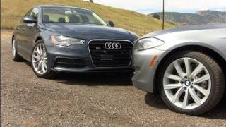2012 Audi A6 versus BMW 535i review: And the best luxury sedan is...