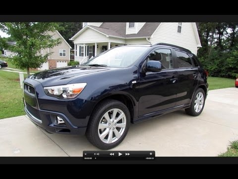 2012 Mitsubishi Outlander Sport SE AWD Premium Start Up, Exhaust, Test Drive, and In Depth Review