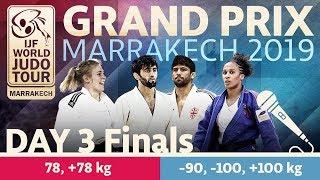 Judo Grand-Prix Marrakech 2019: Day 3 - Final Block