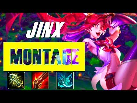 Jinx Montage #50 - Best Jinx Plays S8 - LoL