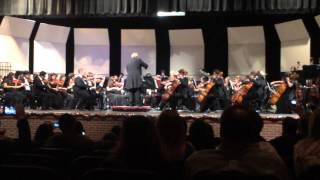 "John Horn High School Full Varsity Orchestra Winter Concert- ""Superman Returns"""