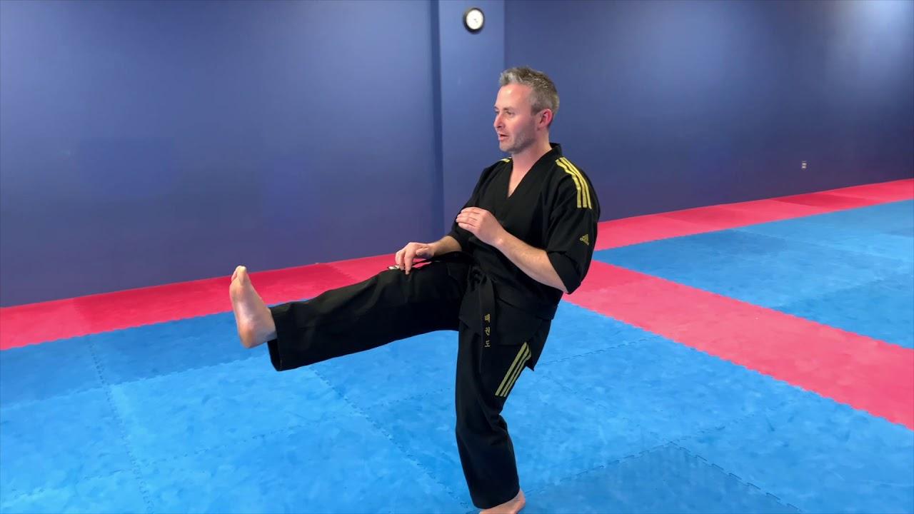 Training From Home: Kick Balance Challenge