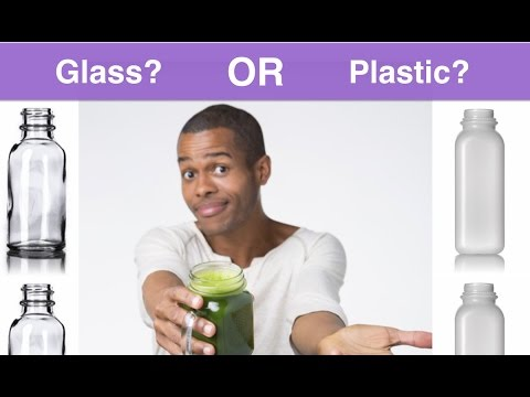 Glass Or Plastic Bottles For Your Juice Or Smoothie Business?