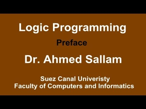 Logic Programming - Prolog - برمجة منطقية