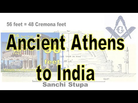 Parthenon Part 5  -From Athens to Sanchi India via Corinthian, Acanthus, Griffins