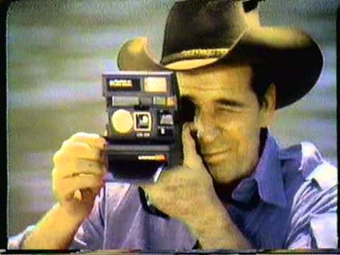 1981 Polaroid Sun Camera commercial. Featuring James ...