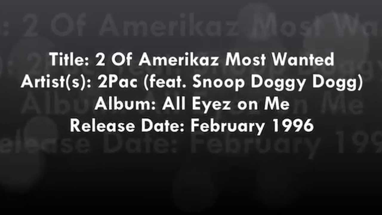 2 of Amerikaz Most Wanted Lyrics