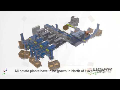 Optical Potato Sorting & Grading with the Visar Sortop | UK distributor Tong Engineering