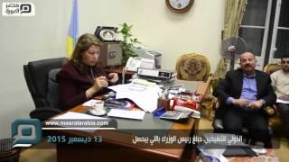 بالفيديو| القائم بأعمال محافظ الإسكندرية لمسؤولي الصرف: حبلغ رئيس الوزراء