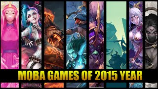 Moba Games Of 2015