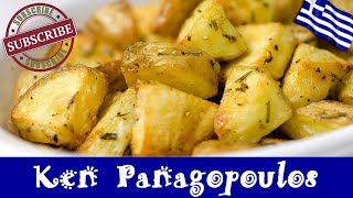 Garlic Rosemary Roast Potatoes - Forget Boring Roasted Potatoes | Ken Panagopoulos