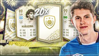 WOW! 20x PRIME ICON MOMENTS PACKS I FIFA 20