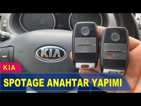 Kia Sportage Akıllı Anahtar Yapımı | Yedek Kopyalama - Oto Anahtarcı İstanbul