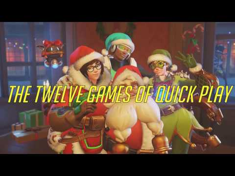 The Twelve Games of Quick Play: An Overwatch Christmas Carol