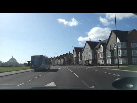 Driving in the UK around Whitley Bay, Newcastle upon Tyne