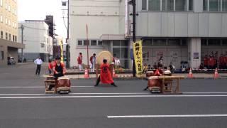 2015年7月30日から8月1日まで旭川中心街で行われた夏の一大イベント「旭...
