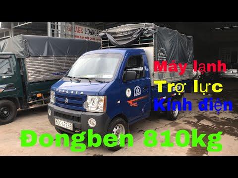 XE ĐÃ BÁN  Dongben 810kg đời 2019 máy lạnh trợ lực kính điện LH : 0913675942  Ô Tô Hoàng Sơn