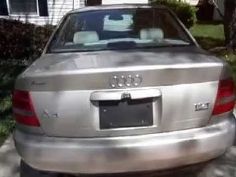 1999 Audi A4 Quattro Gold Exterior