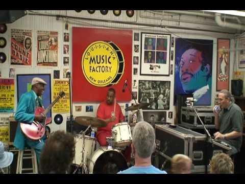 Joe Krown - Walter Washingon - Russell Batiste Jr. @ Louisiana Music Factory JazzFest 2009