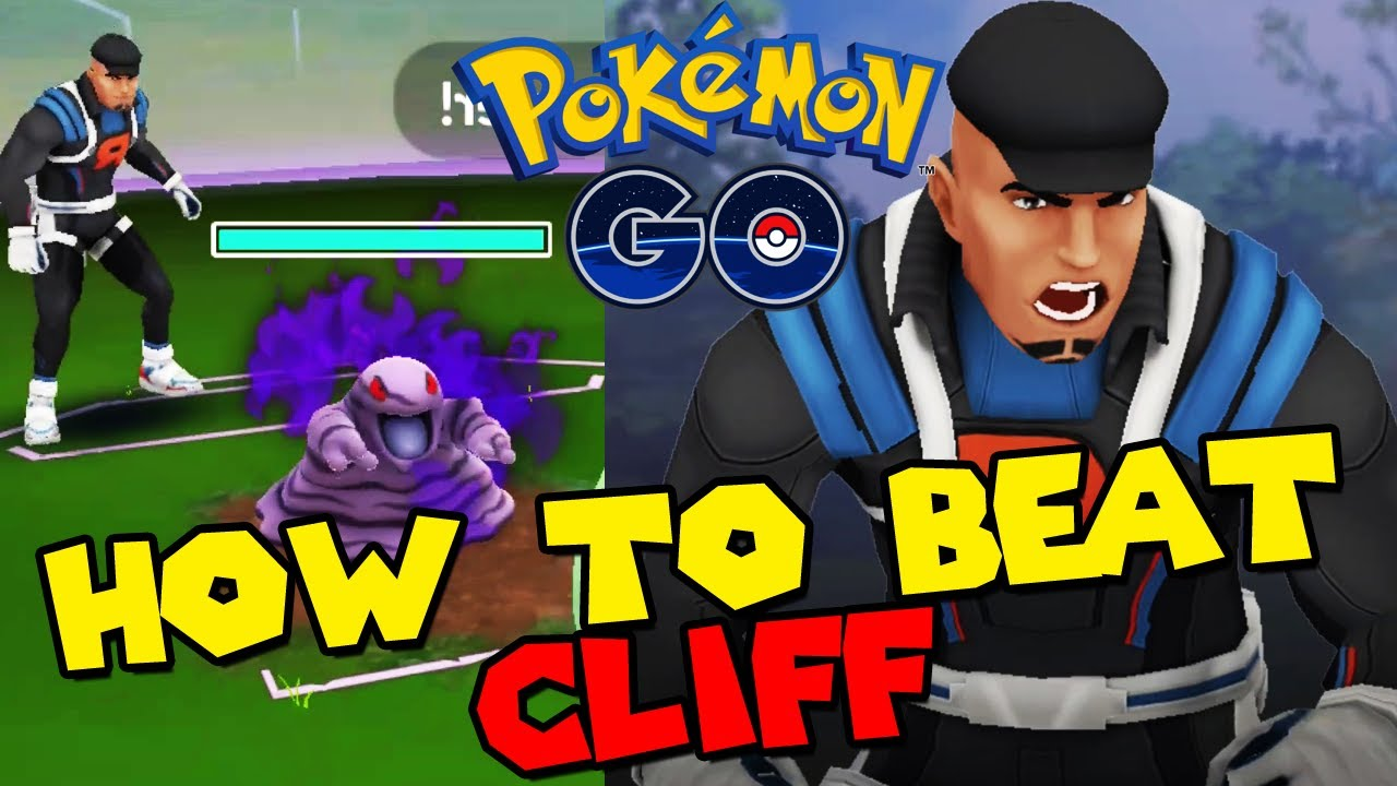 How to beat CLIFF in Pokemon Go Fest Battle Challenge (SHADOW GRIMER)