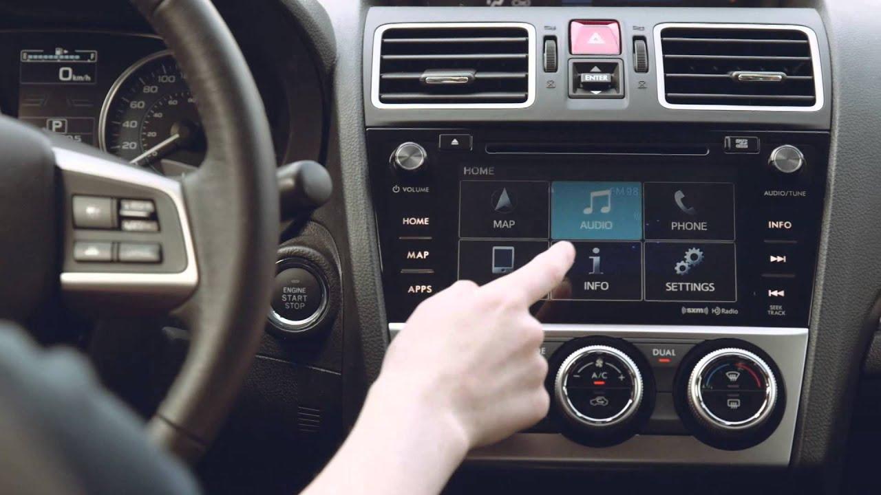 SiriusXM in your Subaru