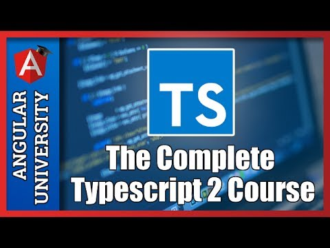 💥 The Complete Typescript 2 Course - A 1,5 hours Sample Tutorial