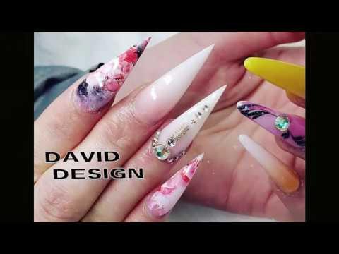 new nail art 2019 / nail technician david / the best nail
