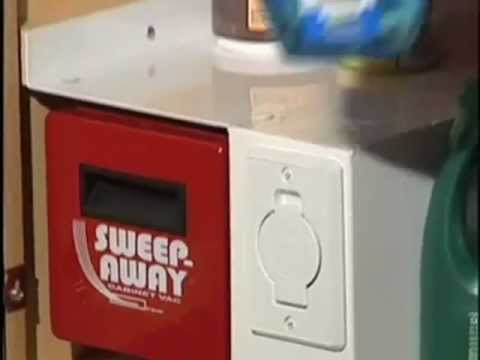 The SweepAway Cabinet Vac   A Central Vacuum System For Your Cabinet.