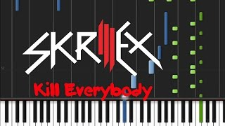 Download Skrillex - Kill Everybody [Piano Cover] MP3 song and Music Video