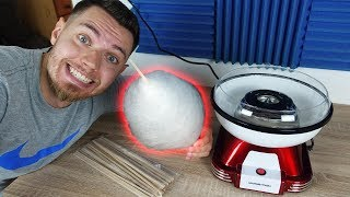 Zuckerwatte zu Hause selber machen! (Maschine im Test)