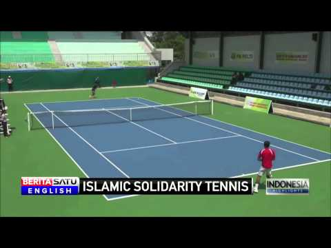Indonesia Tennis Doubles Wins Gold at Islamic Solidarity Tournament