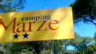 campeggio le marze arriviamo