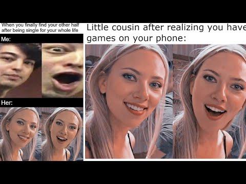 Surprised Scarlett Johansson Know Your Meme
