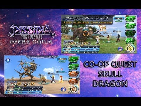 [DFFOO] Co-op Quests - Group | The Dragon of Death: Skull Dragon #6