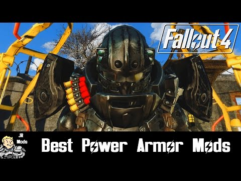 Fallout 4: Best Power Armor Mods - Ржачные видео приколы