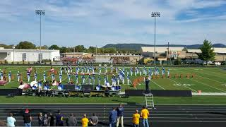 Grant County Marching Band 10/21/17