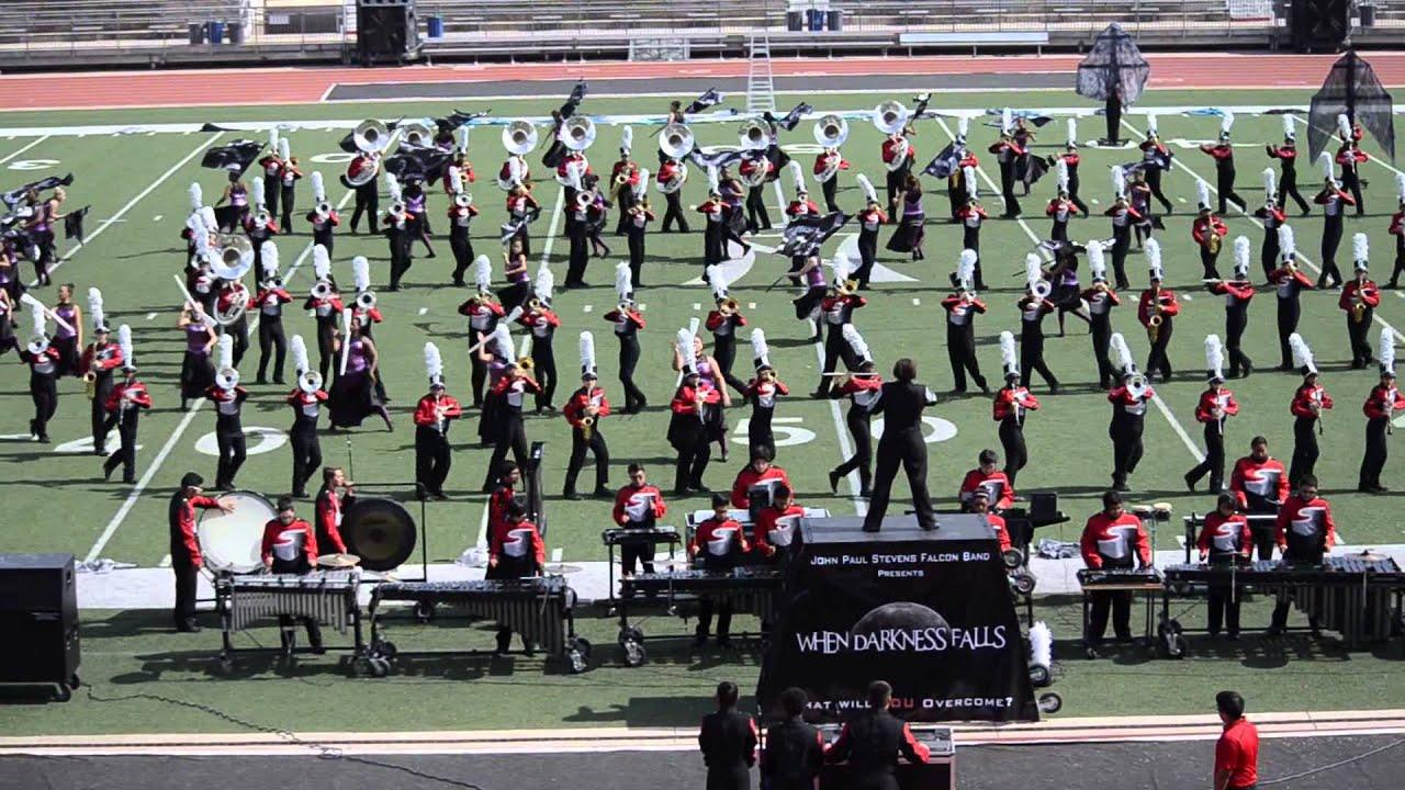 northside band festival 12 october 2013 stevens high school colorguard jp red