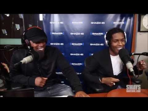 ASAP Rocky DISSES 50 CENT + G Unit In DOPE Freestyle! (Accidentally) Funny. Sway 2015 Mp3