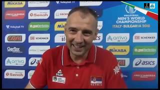17-09-2018: #barivolley2018 - Pool C a Bari, fari puntati su Nikola Grbic