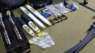 Lift Kit install   2010 D22 Navara
